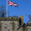 British battlement — Stock Photo