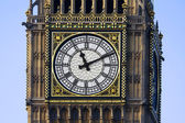 Westminster clock face — Stock Photo