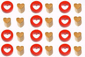 Two like hearts — Stock Photo