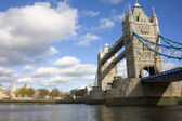 Tower Bridge and the Tower Of London — Stock Photo