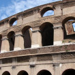 Colisseum facade - Stock Photo