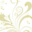 Royalty-Free Stock Imagen vectorial: Flourish backgound