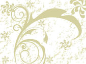 Vector illustration of floral design — Stock Vector