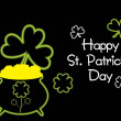 Royalty-Free Stock Vectorielle: Illustration for patrick day