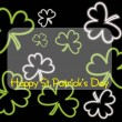 Royalty-Free Stock Obraz wektorowy: Happy st patrick day background