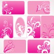 Royalty-Free Stock Vectorielle: Illustration of colorful grungy frames