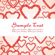 Romantic pattern wallpaper illustration — Vector de stock  #1459281