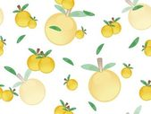 Collection of lemon with background — Stock Vector