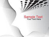 Digital vibrant composition — Stock Vector