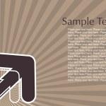 Arrow vector series, style7 — Stock Vector #1460370