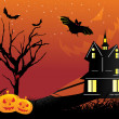 Abstract halloween background, wallpaper — Stock Vector #1467792