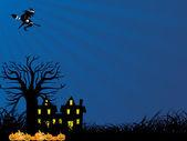 Sfondi di halloween — Vettoriale Stock