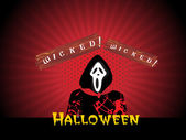 Astratto sfondo halloween, sfondi — Vettoriale Stock