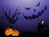 Abstrato do halloween, o papel de parede — Vetorial Stock