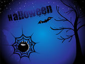 Abstract halloween background, wallpaper — Stock Vector