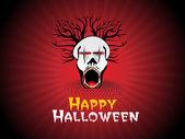 Halloween tło, tapety — Wektor stockowy