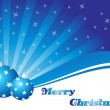 Royalty-Free Stock Vector Image: Rays background with set of xmas ball