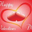 Royalty-Free Stock Векторное изображение: Wallpaper for valentine day