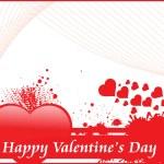 Grungy pozadí pro Valentýna — Stock vektor