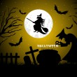 Halloween background vector — Stock Photo