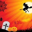 Abstract halloween background — Vector de stock