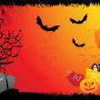 Abstract halloween background — Stock Vector