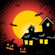 Beautiful illustration for halloween - Stock Vector