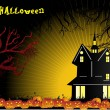 Wallpaper for halloween celebration — Vector de stock #1519701