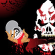 Royalty-Free Stock Imagem Vetorial: Illustration for halloween