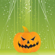 Background with isolated pumpkin — Stock Vector #1519983