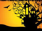 Abstact halloween — Vector de stock