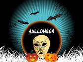 Behang voor halloween — Stockvector