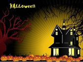 Wallpaper for halloween celebration — Vecteur