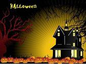 Wallpaper für halloween-feier — Stockvektor