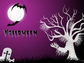 Halloween pattern wallpaper — Vector de stock