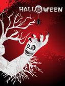 Behang voor halloween dag — Stockvector