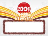 Jaar 2009 creatieve frame design10 — Stockvector