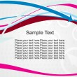 Royalty-Free Stock Vector Image: Curve arrows stripes with sample text