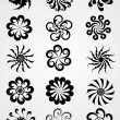 Decorative or artistic work tattoos - Stock Vector