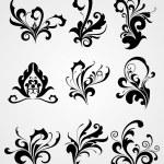 Abstract modern tattoos artwork — Stock Vector #1550798