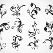 Stock Vector: Ornament pattern tattoos