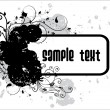 Royalty-Free Stock Imagen vectorial: Abstract black grunge vector
