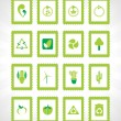 Royalty-Free Stock Vector Image: Ecology series icon set_