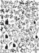 Ilustración de patrón abstracto — Vector de stock
