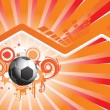 Royalty-Free Stock Vektorgrafik: Abstract background with football