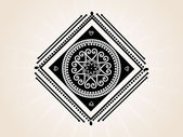 Abstract creative tatto, design52 — Stock Vector