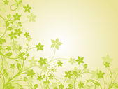 Green nature pattern background — Stock Vector