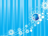 Arka plan Christmas süslü — Stok Vektör