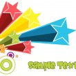 Abstract background with star -  