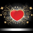 Royalty-Free Stock Vector Image: Illustraion of decorated heart